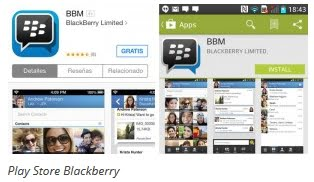 Blackberry Playstore
