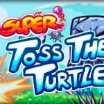 Super Toss The Turtle, lanza una tortuga y dispárale