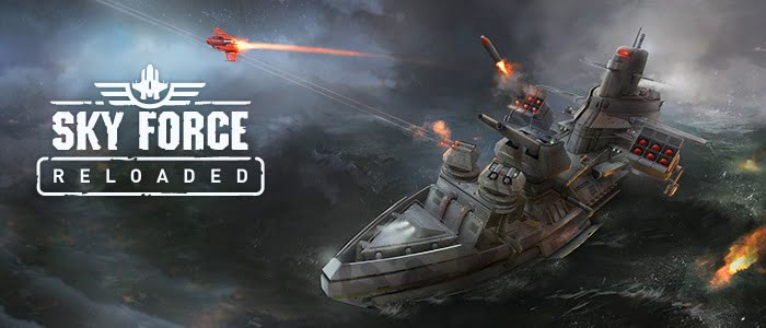Sky Force Reloaded, un shoot 'em up vertical inolvidable