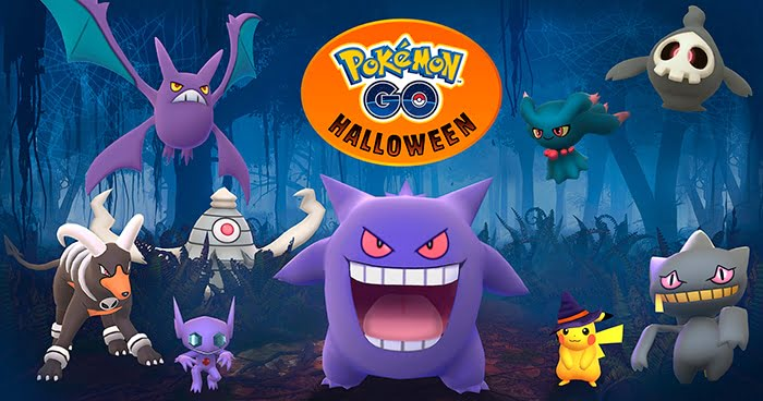 pokemon go halloween 2017
